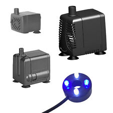 More details for hidom submersible water pump for aquarium fish tank water feature optional led