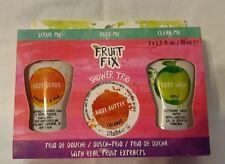 Fruit Fix Travel Size Refreshing Shower Trio With Scrub, Body Butter & Body Wash