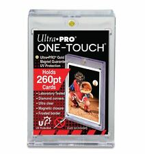 (10-Pack) Ultra Pro One Touch Magnetic Card Holder 260pt Super Thick Size w/ UV