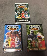 Power Rangers Wild Force VHS Tapes