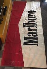 4x10ft Vinyl Bantex Banner w/Wind Slits Corner Grommets Marlboro Advertisement