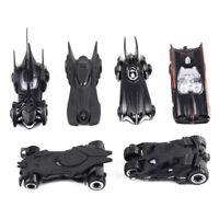 6pcs/Lot 1:64 Movie Style Alloy Black Batman Car Model Diecast Batmobile Toy