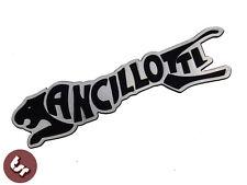 ANCILLOTTI Billet CNC legshield / PANNEAU / badge / emblème PX / GP fits LAMBRETTA / VESPA