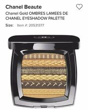 CHANEL OMBRES LAMEES DE CHANEL EYESHADOW PALETTE with CHANEL GIFT BAG