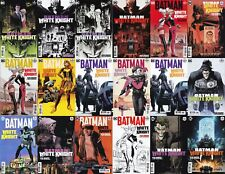 BATMAN: WHITE KNIGHT Sean Murphy BLACK LABEL ALL Variants 1-8