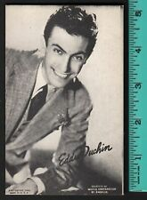 1940 Eddie Duchin promo arcade card Mutoscope, Music Corp of America