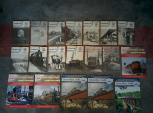 CANADIAN RAIL Back Issue Magazine CRHA Vintage Issues 1982 - 2014 Trains