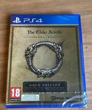 PS4 The Elder Scrolls Online  PLAYSTATION 4 NEUF SOUS BLISTER édition Gold VF