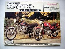 REVUE TECHNIQUE MOTO N° 39 - HONDA CX 400 / 500 / 650 - YAMAHA XS 650