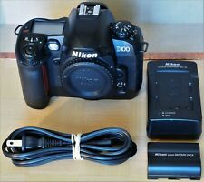 Nikon D100 Digital SLR Camera (body only) with battery and charger