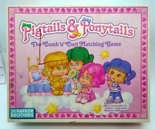 Pigtails & Ponytails Board Game-1989 vintage doll Parker Brothers 100% complete!