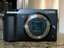 Panasonic Lumix DMC-GX85 - 16MP Mirrorless Camera Body - Black