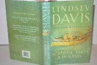 * Signed Copy * Lindsey Davis Scandal Takes a Holiday 1st/1st 2004