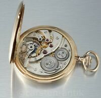 "Louis William Gabus Le Locle Ankerchronometer Qualität ""Extra"" 1900 14k Gold"