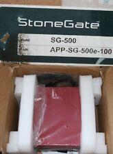 Stonegate Stonesoft Firewall Vpn App-Sg-500E-100 New!