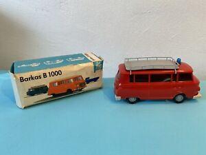 DDR Spielzeug Piko/Anker Barkas B1000 Feuerwehr in OVP