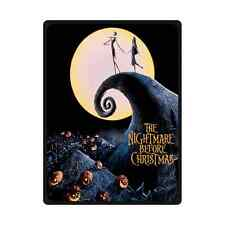 "Custom The Nightmare Before Christmas Throw Blanket 58"" x 80"" Inch"