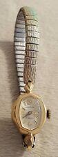Vintage Westclox Ladies Watch wristwatch stretch band 17 jewels