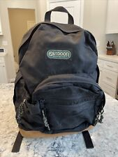 VTG OUTDOOR PRODUCTS LEATHER BOTTOM Seam Lock Shoulder BACKPACK DAY PACK USA