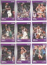 1991 Star Company 12-card Utah Jazz Glossy NBA Set #/250  Karl Malone