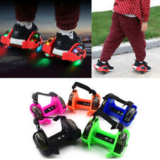 New listing Kids Flashing Roller Skating Shoes Small Disc Flash Wheel Heel Roller