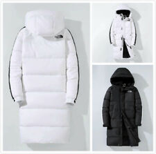 Long fashion Duck Down Jacket Mens Winter Warm Thick Hooded Puffer Coat Parka