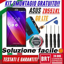 "LCD+TOUCH SCREEN ORIGINALE PER ASUS ZENFONE GO LTE 5,5"" TV ZB551KL +KIT ATTREZZI"