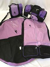 AMDance Designs Purple Classical Ballet Dance Bag Package