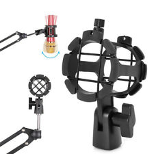 NB04 Bearable Handheld Condenser Microphone Shock Mount Clip Mic Holder Stand