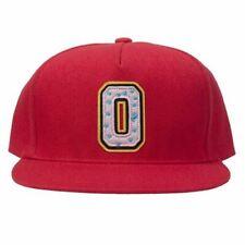AUTHENTIC OFWGKTA 'OF COLLEGIATE 2 DONUT' MEN'S SNAPBACK HAT RED ONE SIZE MSRP40