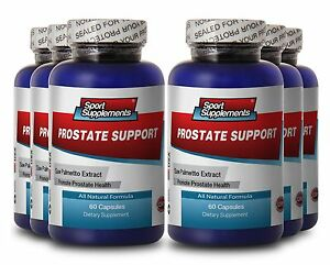 Prostate Support 1600mg - Achieve Therapeutic Benefits - Prostate Plus Pills 6B
