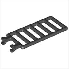LEGO Lattice 1x4x6 W. Snap(6020)_Black_602026(Lot of 10)