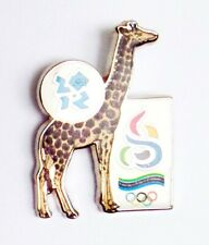 2012 London Olympic Games Dated NOC Collectors Pin Badge - Tanzania RARE