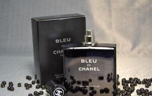 Bleu de Chanel Paris EAU de Parfum Pour Homme 100 ml 3.4 fl.oz