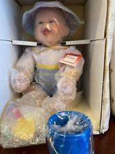 "Vintage Ashton Drake Doll ""Li'l Scoop"" in original packaging"
