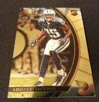 2017 Panini Select Adoree' Jackson RC #57 Tennessee Titans