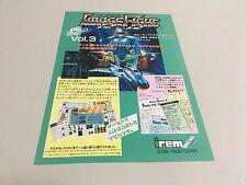 Image Fight A4 PC Engine flyer handbill Japan IREM