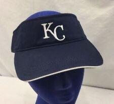 MLB KC Kansas City Royals Navy Blue Budweiser Beer Promo Strapback Visor Hat