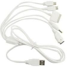 5-in-1 Universal USB Power & Data Link Cables for PSP / GBA iPod/iPhone 4 / DS L