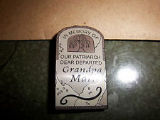 Haunted Mansion Gravestone Fantasy Pins - Your Choice - 8 Different Styles - New