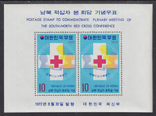 Korea Sc 834a MNH. 1972 Red Cross Souvenir Sheet, VF