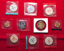 Lot Of 10 Different U.S. Mint Tokens - Sealed From The Mint - L@@K