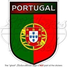 PORTUGAL Portugais Bouclier Pare-choc Autocollant, Autocollant Vinyle