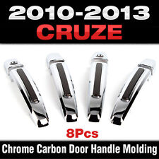 Luxury Chrome Door Catch Handle Molding Cover Trim for CHEVROLET 2008-2014 Cruze
