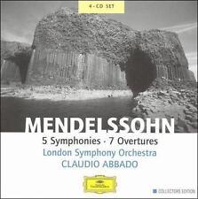 Mendelssohn: 5 Symphonies; 7 Overtures CLAUDIO ABBADO