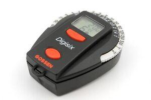GOSSEN DIGISIX Digital Light Meters Exposure meter From Japan #3995