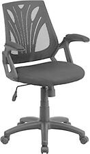Flash Furniture Mid-Back Black Mesh Chair w/Mesh Seat GO-WY-82-GG Chair NEW