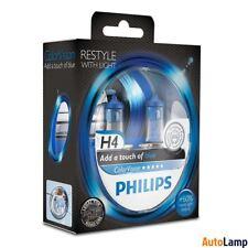 Philips H4 colorvision Azul Faro Bombilla 12 V 60/55W P43t-38 12342 cvpbs 2 Twin