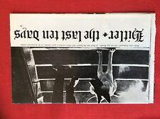 m6-9b ephemera 1970s film preview hitler the last ten days alec guinness