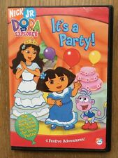 Dora The Explorer - It's A Party NICK JR DVD 4 Festive Adventures